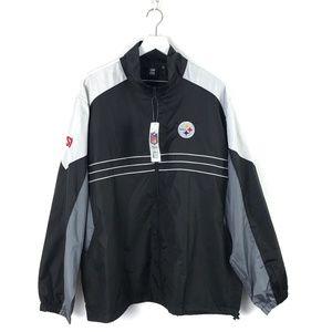 Reebok NFL Pittsburgh Steelers Jacket NWT #114